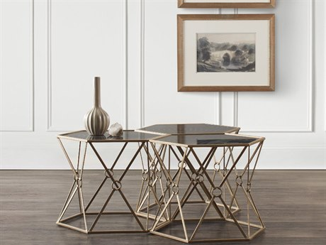 Luxe Designs 24''L x 20'' Wide Hexagon End Table