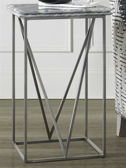 Luxe Designs 16'' Wide Square End Table LXD57557931583GRY