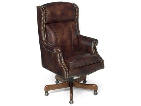 Luxe Designs Byzantine Medium Wood Executive Swivel Tilt Chair LXD317990