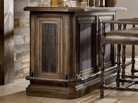 Luxe Designs Timeworn Saddle Brown Braunfels Bar Cabinet LXD60617440840BRN