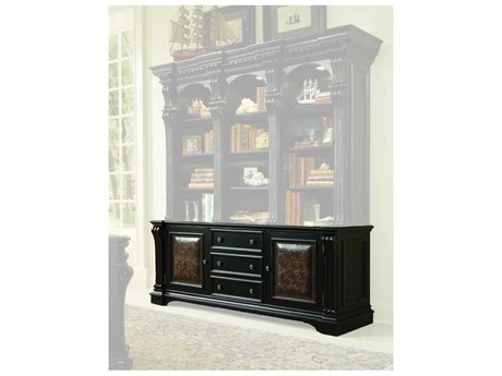 Luxe Designs Black with Reddish Brown Bookcase Base LXD471990265