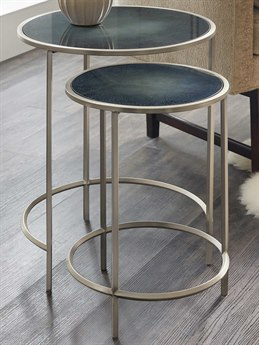 Luxe Designs 19'' Wide Round Nesting Table LXD5875495009945