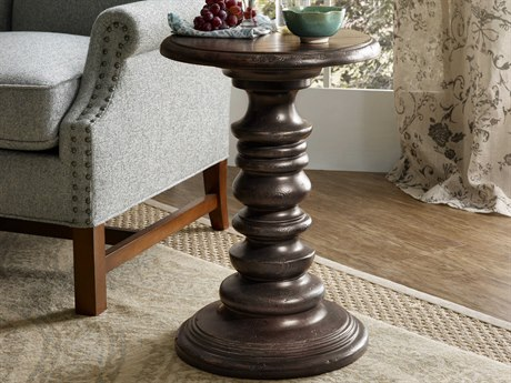 Luxe Designs 17'' Wide Round Pedestal Table
