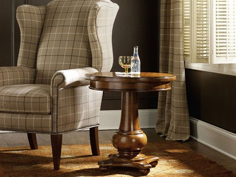 Luxe Designs Round Pedestal Table
