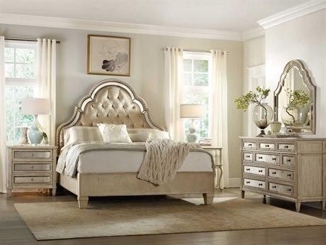 Luxe Designs  Pearl Essence Tufted Bedroom Set LXD31248994150SET