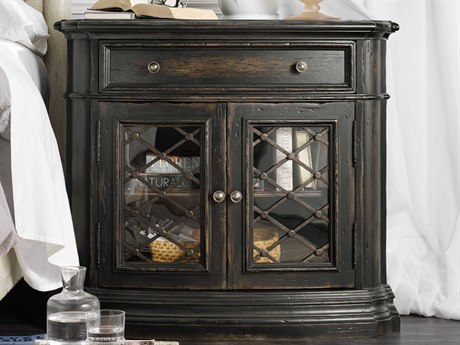 Luxe Designs 1 Drawer Nightstand LXD16968911584ALTBK