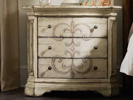 Luxe Designs 3 Drawers Nightstand LXD16968911584WH
