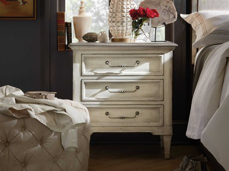 Luxe Designs 3 Drawers Nightstand LXD17118921385WH