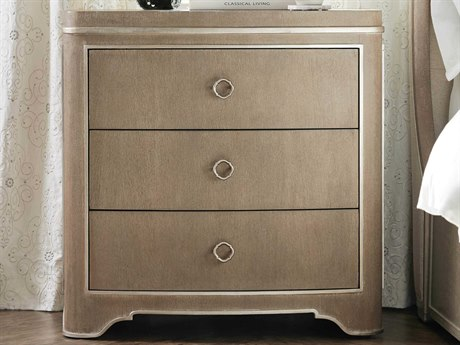 Luxe Designs Three-Drawers Nightstand