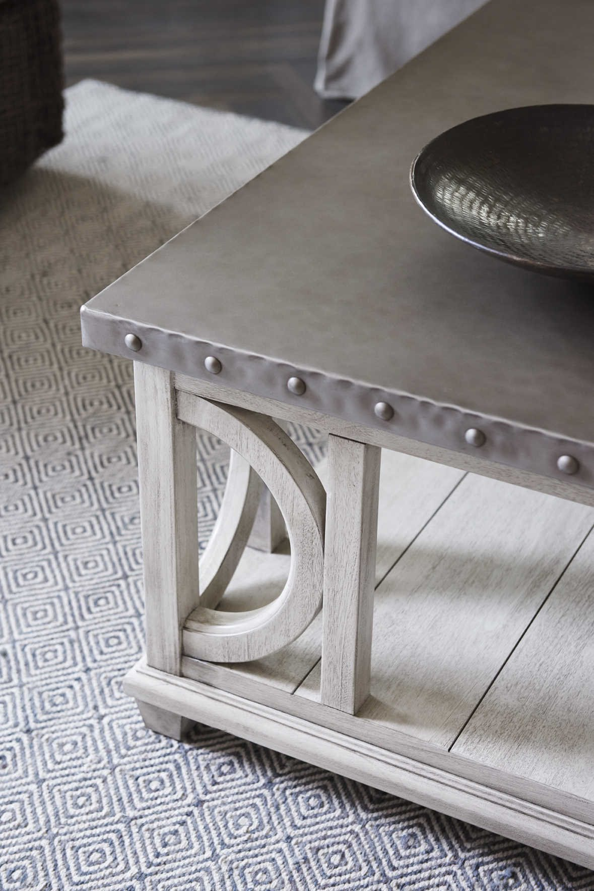 Lexington Oyster Bay Square Coffee Table Lx714945