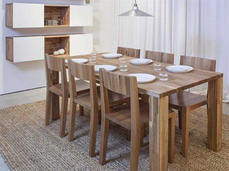 Mash Studios Laxseries Dining Room Set MSHLAX723630SWSET2