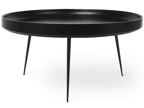 Mater Bowl Black Stain 29.5'' Round Coffee Table MTR01612