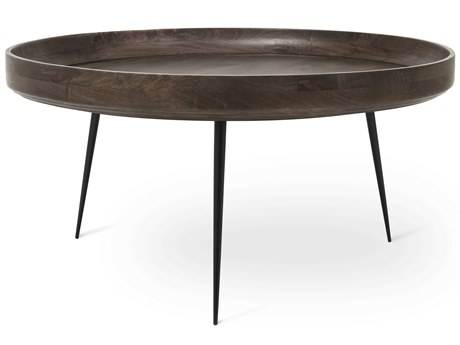 Mater Bowl Sirka Grey Stain 29.5'' Round Coffee Table MTR01613