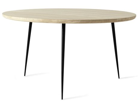 Mater Disc Natural Oak 30'' Wide Round Medium End Table MTR01702