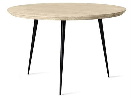 Mater Disc Natural Oak 21'' Wide Round Small End Table MTR01701