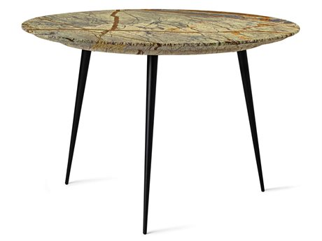 Mater Disc Jungle Green 21'' Wide Round End Table MTR01711