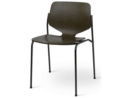 Mater Nova Sirka Grey / Gun Metal Side Dining Chair
