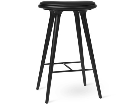 Mater Space Black Stain Bar Stool