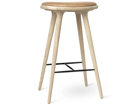 Mater Space Premium Edition Soaped Oak Bar Stool