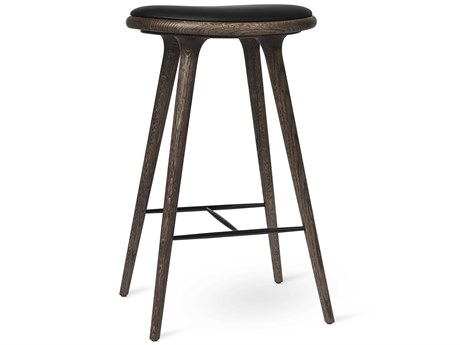 Mater Space Premium Edition Dark Stain Oak Bar Stool