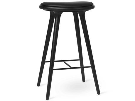 Mater Space Copenhagen Premium Edition Black Stained Oak Bar Stool