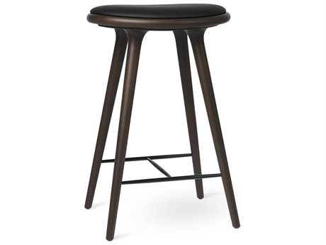 Mater Space Dark Stain Counter Stool
