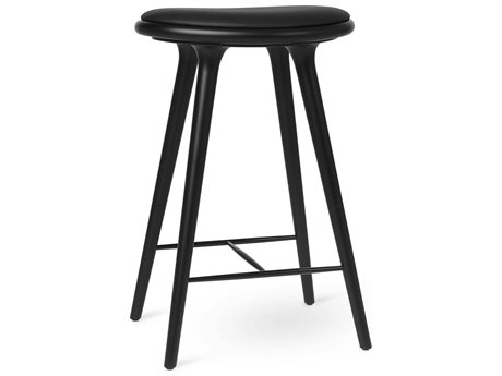 Mater Space Black Stain Counter Stool