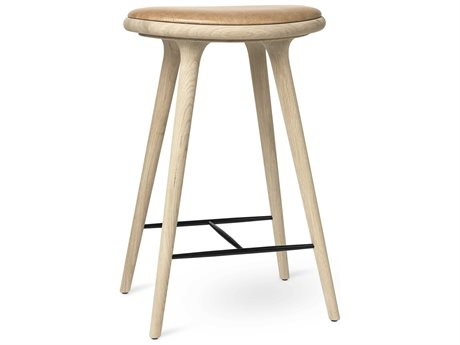 Mater Space Premium Edition Soaped Oak Counter Stool