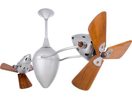 Matthews Fan Company Ar Ruthiane Mahogany Blade 48'' Wide Outdoor Ceiling Fan