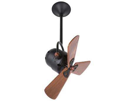Matthews Fan Company Bianca Direcional Mahogany Blade 16'' Wide Indoor Ceiling Fan