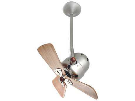 Matthews Fan Company Bianca Direcional Mahogany Blade 16'' Wide Outdoor Ceiling Fan MFCBDBNWDDAMP