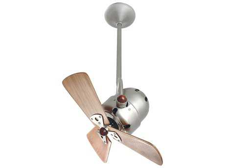 Matthews Fan Company Bianca Direcional Mahogany Blade 16'' Wide Outdoor Ceiling Fan