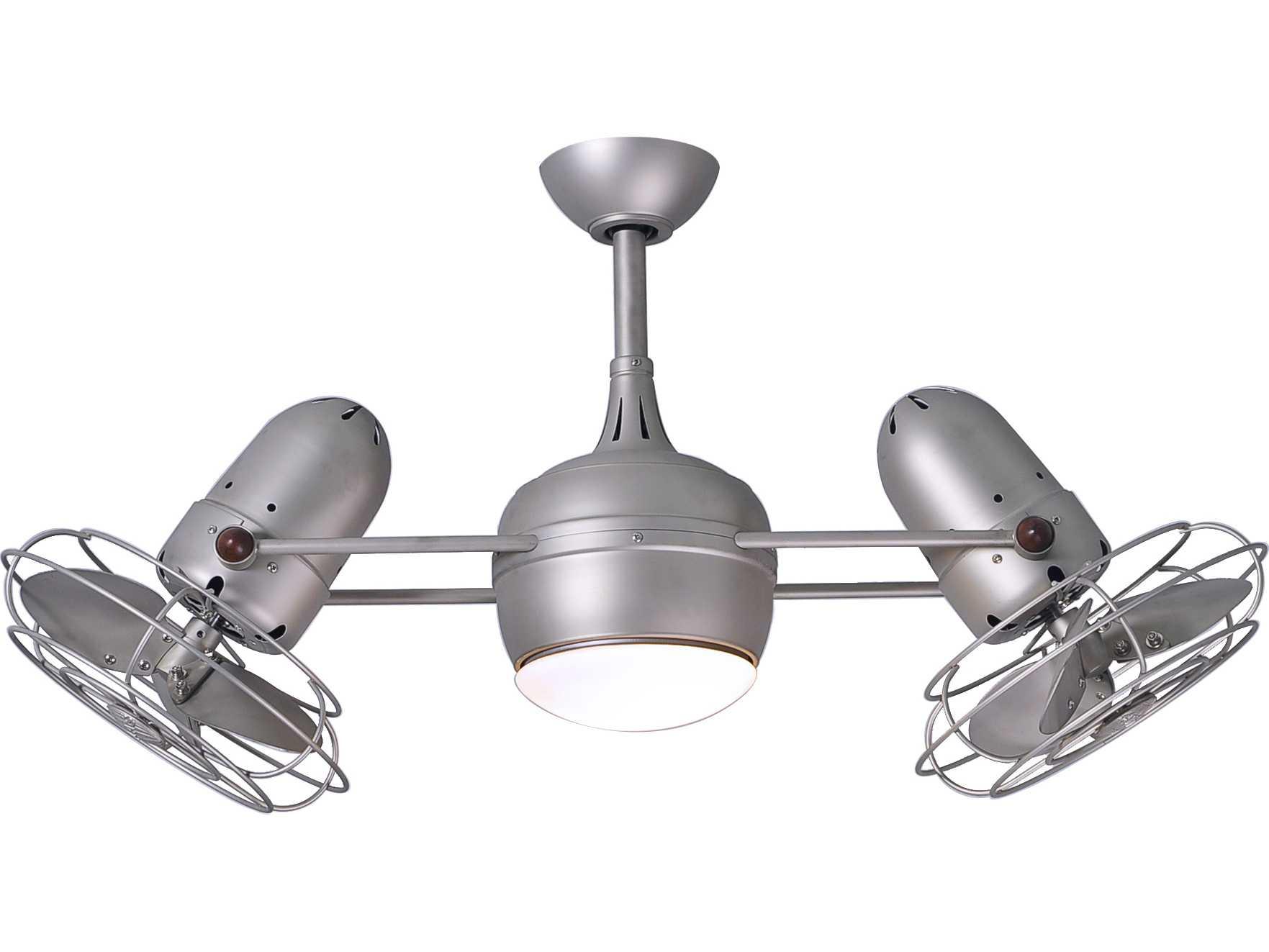 Matthews Fan Company Dagny Brushed Nickel 2 Light 40