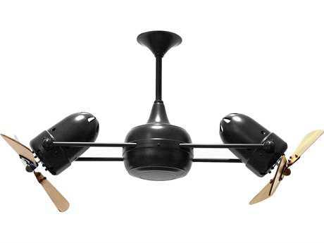 Matthews Duplo-Dinamico Mahogany Blade 36'' Wide Indoor Ceiling Fan