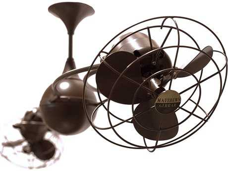 Matthews Fan Company Italo Ventania Metal Blade 60'' Wide Indoor Ceiling Fan