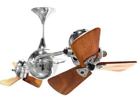 Matthews Fan Company Italo Ventania Mahogany Blade 62'' Wide Outdoor Ceiling Fan