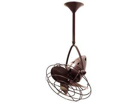 Matthews Fan Company Jarold Direcional Metal Blade 13'' Wide Indoor Ceiling Fan