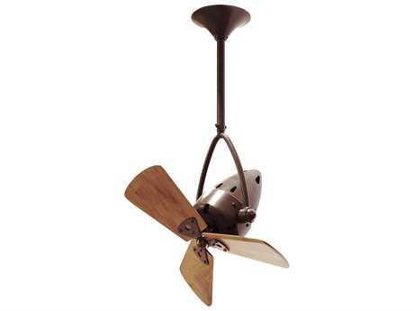 Matthews Fan Company Jarold Direcional Mahogany Blade 16'' Wide Indoor Ceiling Fan