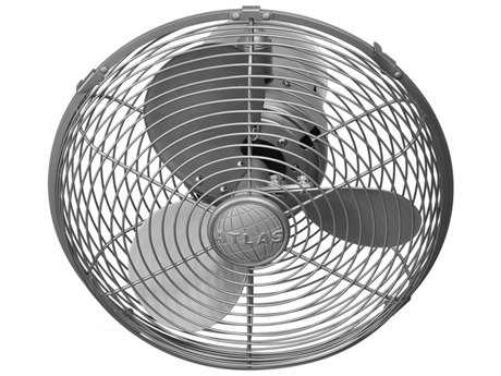 Matthews Fan Company Kaye Brushed Nickel Wall Fan MFCKCBN