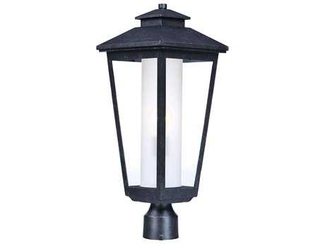 Maxim Lighting Aberdeen Artesian Bronze with Clear & Frosted Glass Outdoor Post Light