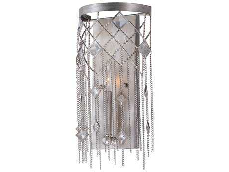 Maxim Lighting Alessandra Silver Mist Wall Sconce MX30272SM
