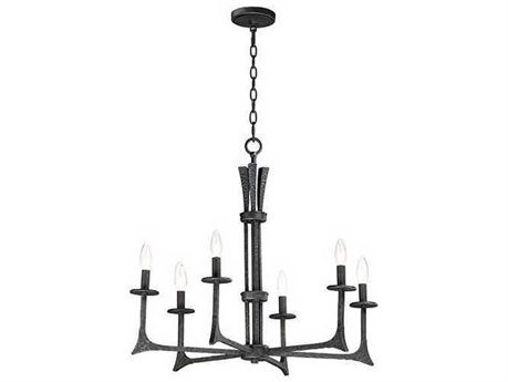 Maxim Lighting Anvil Natural Iron 29'' Wide Medium Chandelier MX30305NI