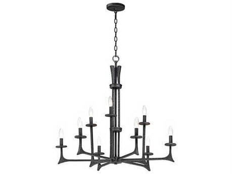 Maxim Lighting Anvil Natural Iron 34'' Wide Medium Chandelier MX30306NI