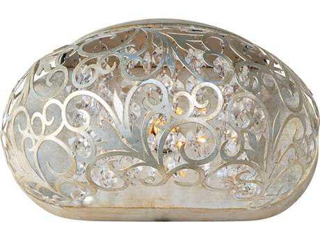 Maxim Lighting Arabesque Golden Silver Wall Sconce MX24158BCGS