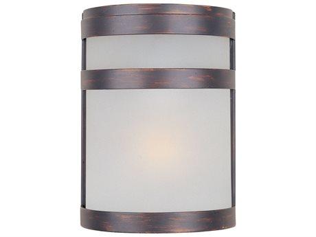 Maxim Lighting Arc Led E26 Oil Rubbed Bronze Glass LED Vanity Light MX65000FTOI