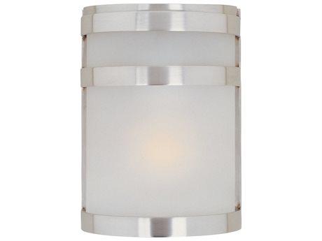 Maxim Lighting Arc Led E26 Stainless Steel Glass LED Vanity Light MX65000FTSST
