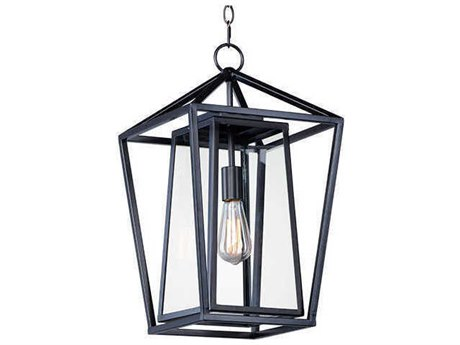 Maxim Lighting Artisan Black 12'' Wide Mini Pendants MX3178CLBK