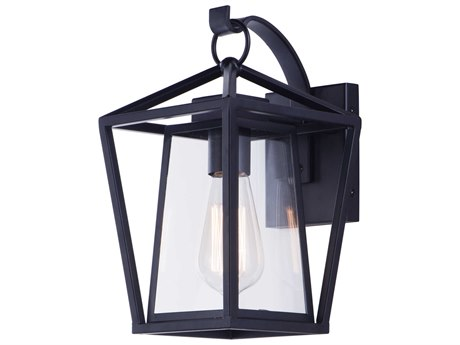 Maxim Lighting Artisan Black  7'' Wide  Outdoor Wall Light MX3173CLBK