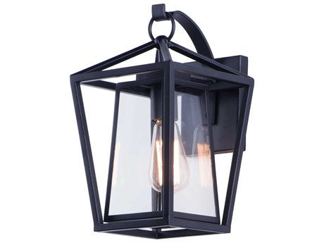 Maxim Lighting Artisan Black  8'' Wide  Outdoor Wall Light MX3174CLBK