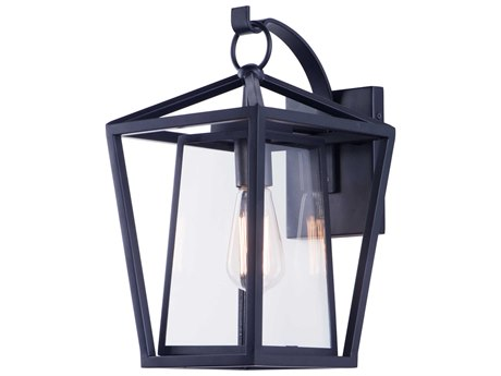 Maxim Lighting Artisan Black  9'' Wide  Outdoor Wall Light MX3175CLBK